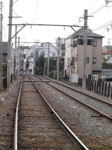 阪堺電車 神ノ木駅付近