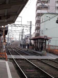 阪堺電車 我孫子道駅