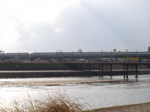 阪堺電車 大和川