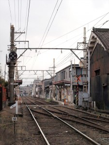 阪堺電車 大和川駅付近