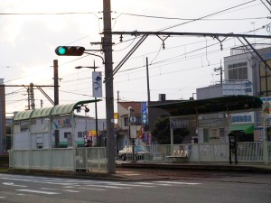 阪堺電車 御陵前駅